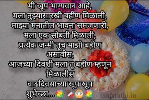 वाढदिवसाच्या हार्दिक शुभेच्छा, Happy Birthday Wishes in Marathi with image, videos,quotes Birthday Wishes in Marathi . मित्रांनो वाढदिवस हा प्रत्येकासाठी अतिशय खास दिवस असतो, या दिवसाची वाट सगळीच जण आतुरतेने बघत असतात , आणि हा दिवस अधिक specialकरण्यासाठी in Marathi.inघेऊन येत आहे birthday wishes, image, videos, quotes